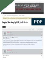 Engine Warning Light & Fault Codes - Hilux Surf & 4Runner forum