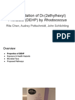 biodegradation of di- 2ethylhexyl  phthalate  dehp  by rhodococcus   1