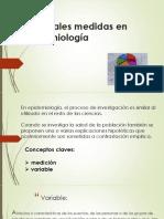 Principales medidas en epidemiologÃ_a 3