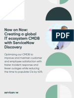 ServiceNow NOW on NOW Success Story  Fin PDF