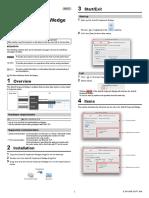 AutoID Keyboard Wedge for Mac user's manual_E
