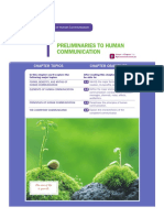 Chapter 1 - Preliminaries to Human Communication, De Vito (1)