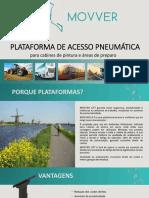 Plataforma de Acesso Pneumática