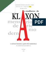 As mulheres de Klaxon o universo feminino a partir dos modernistas
