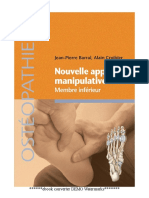 (Osthéopathie) Jean Pierre Barral, Alain Croibier - Nouvelle approche manipulative -  Membre inférieur-Elsevier Masson (2013)