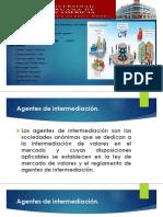 AGENTES DE INTERMEDIACION Y CAJA DE VALORES Y