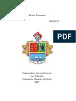 manual de instruccion formal