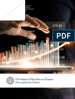The Impact of Big Data on Finance Now and in the Future