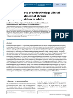 [1479683X - European Journal of Endocrinology] European Society of Endocrinology Clinical Guideline_ Treatment of chronic hypoparathyroidism in adults