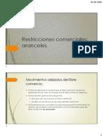 Restricciones comerciales (1)