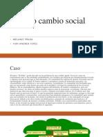 Modelo cambio social diapositivas