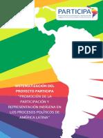 Sistematización del Proyecto PARTICIPA