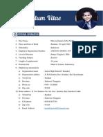 Curriculum Vitae - Herwin Hamid
