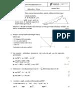 Ficha 2 - Trigonometria