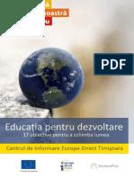 educatiapentrudezvoltaredurabilaedictimisoara-170920092907