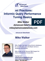 Optimizar consultas de Informix