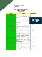 Pauta Evaluación de Proyecto de Practica 2019