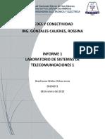 Laboratorio 1 - Practica  Identificacion red