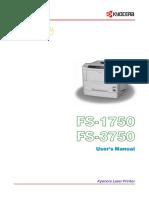 Kyocera Printer 3750