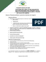 Convocatoria tiendas Por Convenio paquete Escolar 2020