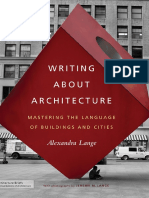 Writing About Architecture - Intro - Traduzido