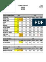 Precio-Licencias-2019-2020