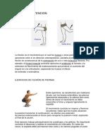 FLEXION Y EXTENCION DE PIERNAS