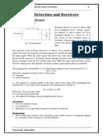 detectors and receiver