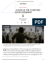 The Real Lesson of the Stanford Prison Experiment _ the New Yorker
