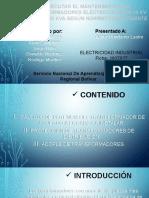 EJECUTAR EL MANTENIMIENTO DE TRANSFORMADORES ELÉCTRICOS SERIE 15