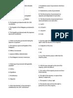 PRACTICE TEST IN SOCIAL STUDIES 1