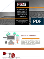 AGENCIAS DE COBRANZA Y GESTORES DE COBRANZA.pptx