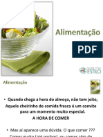 ALIMENTAÇÃO - power point