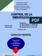 CONTROL DE LA EMBARAZADA walter