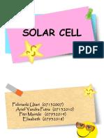 SOLAR CELL.ppt