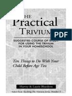 The Practical Trivium - Harvey & Laurie Bluedom