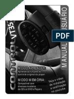Control CD VT35 Manual