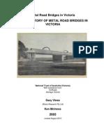 Metal Bridge Study Part 1
