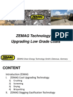 I ZEMAG Technology for Upgrading Low Grade Coal (overview)