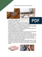 recomendaciones para el mantenimiento.docx