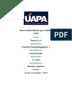 Tarea 3 y 4 pruebas psicopedagogicas 1.docx