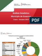 Informe mensual Municipio de Guaymas 2019