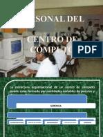 Personal de Centro Computo