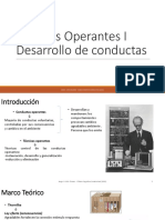 Técnicas Operantes I-II-III