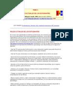 ROLES ACTUALES DE LOS ESTUDIANTES