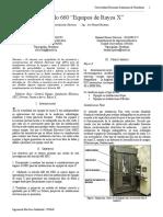 Articulo 660 NEC - Equipos de Rayos X