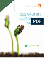 Community Gardening Manual - Toronto, Canada