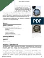 Metrología - Wikipedia, la enciclopedia libre