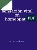 Sankaran Sensacion Vital en Homeopatia Contents Reading Excerpt