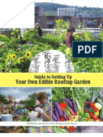 Guide to Setting Up Your Own Edible Rooftop Garden Manual